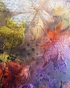 Jools Robertson: DecoArt Autumn Canvas Tutorial