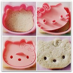 Hello kitty sandwich @Amanda Snelson Snelson Marler Alman are you tired of me tagging you in this stuff yet? Lol.