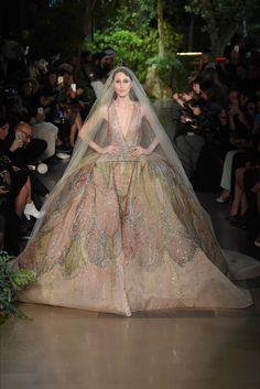 Elie Saab - Haute Couture Spring Summer 2015 - Shows - Vogue.it