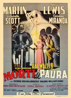 """Movie Poster of the Week: """"Scared Stiff"""" on Notebook 