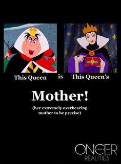 Oncer Realities: Cora and Regina.