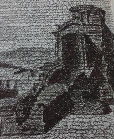 karya lukis dengan menggunakan teknik urel yang menghabiskan tinta, he...he...he.