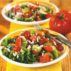 Tomato and cucumber salad @ allrecipes.co.uk