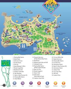 Detailed information about the cruise port including island maps for Royal Caribbean Cruise Lines passengers visiting the cruise port of CocoCay, Bahamas and Carnival Cruise Lines passengers visiting Little Stirrup Cay, Bahamas. Caribbean Cruise Line, Caribbean Honeymoon, Royal Caribbean Ships, Honeymoon Cruise, Bahamas Vacation, Bahamas Cruise, Cruise Port, Cruise Tips, Cruise Travel