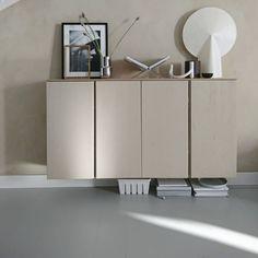 Decor, Furniture, Interior, Ikea Lack Shelves, Vintage Desk, Ikea Hack, Ikea, Home Decor, Ikea Ivar