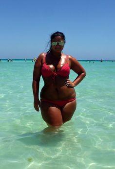 and who said bikini's are for size 2 girls only...