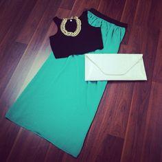 Aquamarine Sheer Maxi Skirt