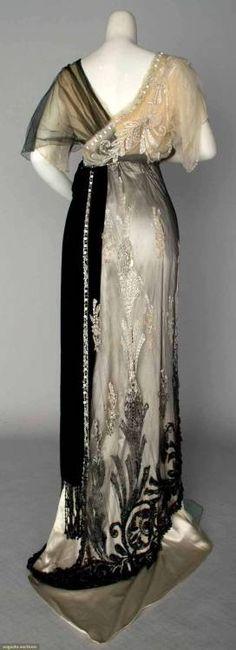 1911 Paquin Evening Dress.