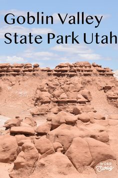 You have to add Goblin Valley State to your Utah Family Vacation! It is such a fun place to hike and enjoy the rock formations!  #utah #goblinvalley famikyvacation Best Family Vacation Spots, Utah Vacation, Family Travel, Weekend Trips, Day Trips, Goblin Valley Utah, Best Places To Travel, Places To Visit, Utah Hikes