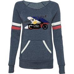 Dyer Cycle - Flag   Keep the chill off with Alternative Apparel's Maniac Sport Eco-Fleece Wideneck Sweatshirt.