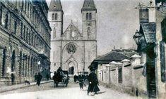 Old Sarajevo Photos - Cathedral and Strosmajerova Street