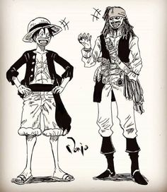 Any fan of pirate of the caribbean ? One Piece Ace, One Piece Manga, One Piece Funny, One Piece World, One Piece Ship, One Piece Fanart, Manga Anime, Anime Couples Manga, Cute Anime Couples