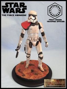 Force Awakens Trooper Officer (Star Wars) Custom Action Figure