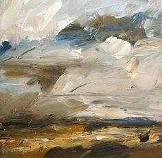 Louise Balaam - Yellow fields, September