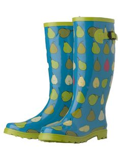 Garden Boots, Clogs, Shoes, and Wellies Garden Boots, Wellies Boots, Rain Gear, Cool Boots, Cool Patterns, Me Too Shoes, Rubber Rain Boots, My Style, Accessories
