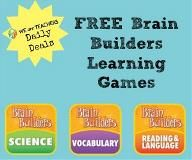 Free only today 8/8/13!  Brain Builders Interactive Learning Game Download! Game is free with coupon so follow the link. I chose the science one for my 4 and 6 year olds.