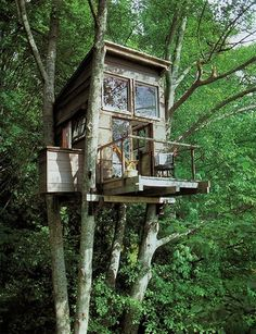 Tree house ~ Repinned by Federal Financial Group LLC #FederalFinancialGroupLLC ffg2.com www.facebook.com/...