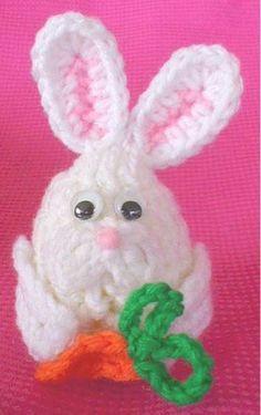 Maggie's Crochet · Free Bunny Egg Critter Pattern