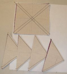 Half-Square Triangle, 8 at once