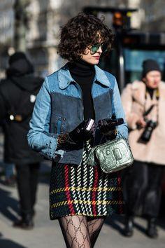Street style a la Fashion Week automne-hiver 2018-2019 de Paris 43