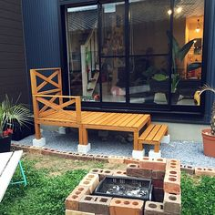 女性で、3LDKのウッドデッキ/カフェ風/DIY/ガーデニング/観葉植物/ヤシ…などについてのインテリア実例を紹介。「庭からの眺め」(この写真は 2016-04-03 06:54:28 に共有されました) Deck Design, House Design, Diy Interior, Garden Bridge, The Great Outdoors, Diy And Crafts, Exterior, Outdoor Structures, Architecture