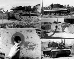 Tiger 221, s.Pz.Abt.504, destroyed in Cecina by lieutenant Edwin Cox's Sherman, July 1st 1944.