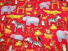 Jolly Jungle Flannel Fabric, 27x 42 Inches,Andover - fabric, Flannel, InchesAndover, JOLLY, Jungle