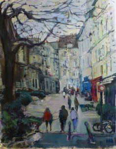 Sabor a Paris, Paris, Painting, Impressionist Paintings, Impressionism, Painting Art, Paintings