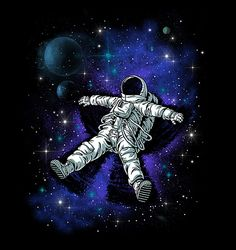 Astronaut's Snow Angel