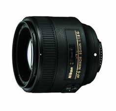 Nikon 85mm f/1.8G AF-S NIKKOR Lens for Nikon Digital SLR Cameras by Nikon. $396.95. From the Manufacturer                  Fast aperture, medium telephoto portrait lens for great stills and D-Movie HD videos  Designed for use on Nikon's FX-format D-SLR cameras, this updated medium telephoto f/1.8 lens is designed for shooting stills or D-Movie HD videos. The AF-S NIKKOR 85mm f/1.8G features Nikon's Internal Focus (IF) system providing fast and quiet AF and pr...