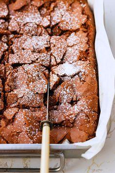 Super-Fudgy Double Chocolate Brownie