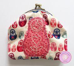 #monedero #boquilla #patchwork #handmade #costura