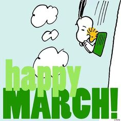 Happy March! If only the weather would cooperate