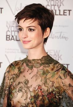 Cute short hair. Maybe will do...maybe