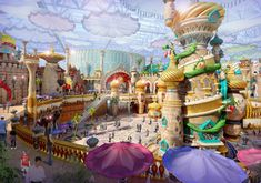 IDEATTACK Reveals Designs for $100m Eontime World Theme Park, Yinchuan City, China | blooloop
