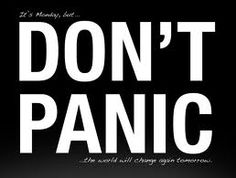Icon Don't panic