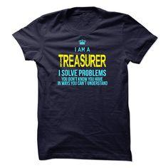 Im A/An TREASURER T Shirt, Hoodie, Sweatshirt