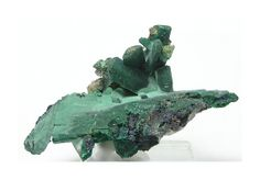 Malachite Pseudomorph after Azurite with by FenderMinerals on Etsy,