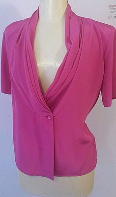 Pink Blouse 4 Career Womens Greg Adams #gregadams #Blouse #career