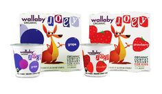 Wallaby Yogurt: Your daily #packaging smile : ) PD
