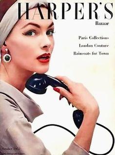 Harper's Bazaar, Oct 1952