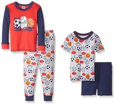 Gerber Baby FourPiece Cotton Pajama Set Sports 24 Months ** You can find out more details at the link of the image.Note:It is affiliate link to Amazon.