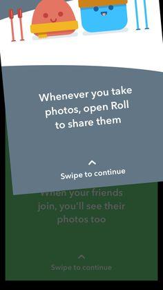 Roll - Camera roll sharing | Pttrns