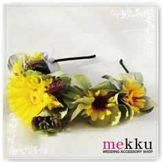 【花飾り】花カチューシャ
