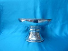 Large Arts and Crafts silver comport by Philip Frederick Alexander - Marlin Antiques