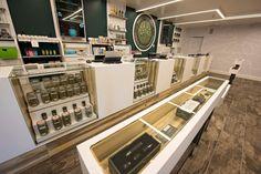 Retail Cannabis Display