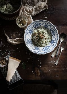 Venetian Risotto with fennel and Caramelized Onion | Hortus Natural Cooking