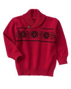 Fair Isle Snowflake Sweater