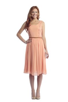 Whimsical Dress with Belt