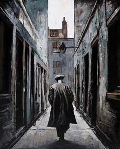 The Gorbals Man .by Ryan Mutter City Sketch, Glasgow School Of Art, Types Of Painting, Most Beautiful Cities, Contemporary Artists, Great Artists, Old Photos, Landscape, History